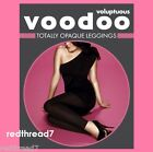 Voodoo Voluptuous Sexy Women Black Totally Opaque Leggings Plus Size 18 20 22 24