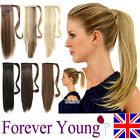 Clip In Pony Tail Hair Extension Wrap Around Ponytail Hair Extension Piece