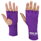 MRX INNER GLOVES FIST PROTECTIVE HAND WRAPS MUAY THAI PURPLE