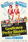 """""""Gentlemen Prefer Blondes"""" .Marilyn Monroe Classic Movie Poster A1 A2 A3 A4Sizes"""
