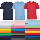 New Boys Plain T-Shirt School PE Gym Unisex Age 2/3 upto 12/13 yrs