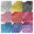 150cm Width Sequin Fabric Mesh back Fashion Wedding Decoration Material By Yard