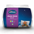 Silentnight Deep Sleep Hollowfibre Duvet With Soft Polycotton Cover - 13.5 Tog