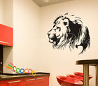 Wall Decal Sticker Lion silhouette