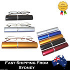 G&G Slim Carry Around Reading Glasses Pen Tube Case 1.0 1.5 2.0 2.5 3.0 3.5 4.0