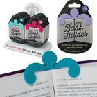 Little BOOK HOLDER Holds your book open, New Colours added, Mint, Lilac & Grey