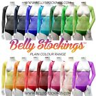 M BELLY DANCE COSTUME (OD) GLITTER BODY STOCKING SLEEVES MIDRIFF COVER