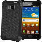 Shock Proof Dual Layer Silicone & Hard Case Cover For Samsung Galaxy S2 i9100