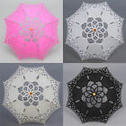 "21"" Kid's Battenburg Lace Parasol Umbrella Bridal Wedding Party Decoration"