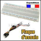 924A# MB102 plaque d'essais  prototype 830 points  -- breadboard PCB arduino -