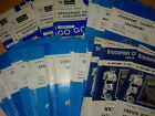 Stockport County HOME programmes early 1970's choose from list FREE UK P&P