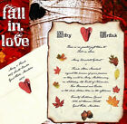 50 Fall in Love Autumn Scroll Wedding Invitations Invites