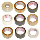 Vibac Parcel Packing Packaging Tape Clear Buff - Various Tapes and Quantities