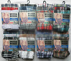 6 Mens Woven Boxer Shorts Loose Fit Poly Cotton Blend Boxers Underwear All Sizes