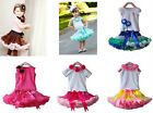 Girl Baby Kids Top+Tutu Pageant Party Dress Skirt Dancewear Outfit Set Clothing