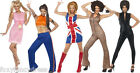 Spice Girls Girl Power 1990's Ginger,Scary,Posh,Baby,Sporty Pop Star Fancy Dress