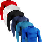 mens BASELAYER tight compression skin cool dry shirt sport  clothing Top