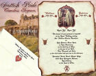 qty 50 Scottish Pride Scroll Wedding Party Invitations Invites