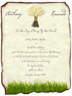 qty 50 Beautiful White Rose Scroll Wedding Party Invitations Invites