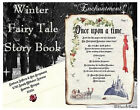 qty 50 Winter Fairy Tale Princess Scroll Wedding Party Invitations Invites