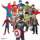 AMAZING MARVEL AVENGERS BOYS / MENS SUPER HERO FANCY DRESS COSTUMES