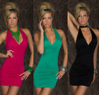 Fashion Sexy Lady Clubwear Cocktail Party Club Nightclub V-Neck Dress 3 colors