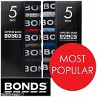 Bonds Sexy Mens 5 Pack Hipster Cotton Brief Underwear Jocks Undies S M L XL XXL