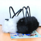 Two colors Cute Lovely Fur Leather Handbag Shoulder Bag handbags Bags