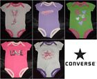 New! Converse Infant Baby Girl One Piece Bodysuit 3-6 Months