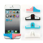 For iPhone 5 4 4S Mens Underwear Thong Briefs Silicone Home Button Case Cover