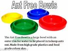 Ant Free Coloured Plastic Bowls for Cats & Small Dogs - Be ready for Summer