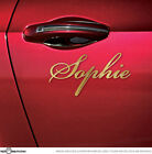 Choose your Name Personalised Car or Motorbike Vinyl Decal Sticker