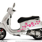 Sakura Flowers Scooter/Bike/Car/Window or Wall Vinyl Stickers Bumper Decal 17pcs