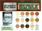 BRIWAX ORIGINAL Wax Polish cleans & protects wood furniture  COLOUR CHOICE 400ml