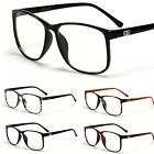 DG Retro Nerd Wayfarer Sunglasses Clear Lens RX Prescription Eye Glasses Frame