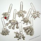 Set of 4 Knitting Needle Stitch Markers of your choice dolphin/yarn etc ~ New