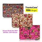for Amazon All New Kindle Fire HD 7 (2013 Release) Smart Owls Canvas Case Cover