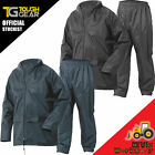 Rainsuit Waterproof Storm Jacket & Trouser Set Mens Ladies Coat, 2 Piece Suit