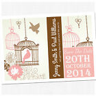 Personalised Save The Date Wedding Cards & Envelopes - Choose Your Colour SD003