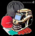 Auto Darkening welders Solar Welding Helmet Mask with Grinding Function!