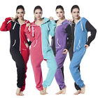 Unisex Womens Romper One Piece Hood Pajamas Jumpsuit All In One Nordic Way