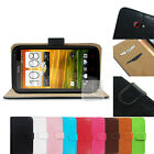F Leather Wallet Skin Case Stand Cover Pouch For HTC ONE X + / One XL S720e X+