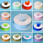 "7/8"" x 25 yrd Mono Edge Organza RIBBON Wedding FAVORS Crafts Invitations Sewing"