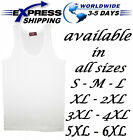 %100 Egyptian Cotton Top Tank Men Underwear Undershirt Vest Sleeveless T-Shirt