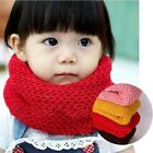 Fashion Baby Kids Toddler Infant Soft Warm Knitted Winter Wrap Neckchief Scarf
