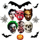 Halloween Face Mask Party Mask Horror Zombie Vampire Devil Face Scary Creepy Fun