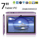 """Hot 7"""" Google Android 4.0 Tablet PC MID 4GB A13 1.5GHz Touchscreen Camera Wifi"""