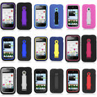 Kickstand Double Layer Cover for Huawei Prism 2 II U8686 Case T-Mobile