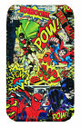 Comic Heroes iPHONE CASE POUCH Fits Samsung Galaxy s2, s3, s3mini,s4 & s4mini