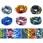 Various Mens Polyester Outdoor Riding Scarf / Neckerchief / Wristband / Headband